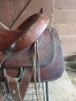 16 American Made Western Saddle