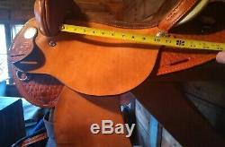 16 American Saddlery Denero II Barrel Racing/ Trail Western Saddle
