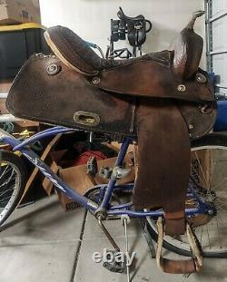16 Barrel Racing Saddle Western