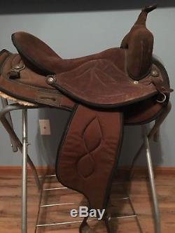 16 Big Horn Cordura Western Saddle 501 SYNTHETIC Trail