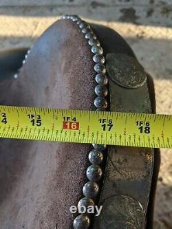 16 Bighorn Cordura Western Saddle