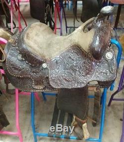 16 Billy Cook Amy Gamblin Saddle
