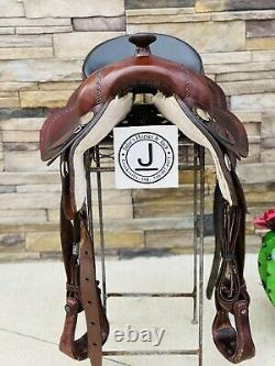 16 Billy Cook Saddle- All Around, Western, Ranch, Working Saddle, Trail