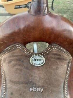 16 Billy Cook Western Saddle
