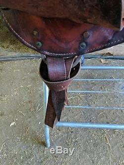 16 Blue Ridge Western Saddle
