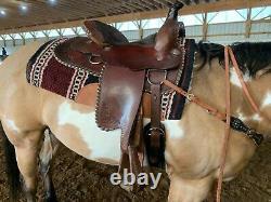 16 Buffalo Saddlery western pleasure saddle