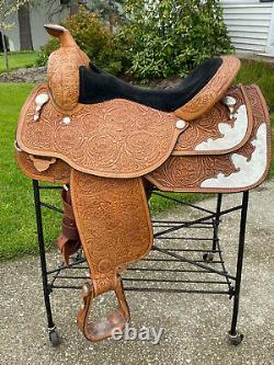 16 CIRCLE Y Silver Western EQUITATION Show Saddle