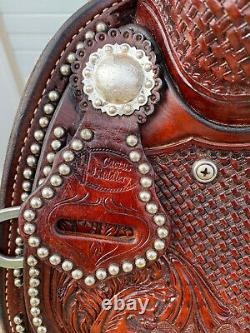 16 Cactus Saddlery Western Reining Saddle Working Cowhorse Ranch Pleasure
