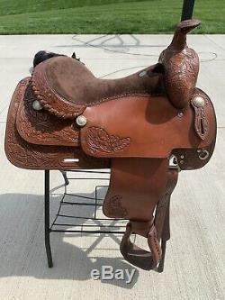 16 Champion Turf Western Trail Saddle