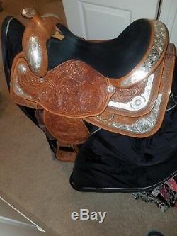 16 Circle Y Equitation/Western Pleasure Show Saddle