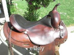 16 Circle Y Flex Tree OMAHA Nice saddle and light too. #2