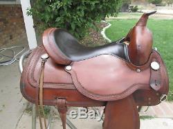 16 Circle Y Flex Tree Topeka Nice saddle and light too