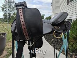 16 Circle Y High Horse Eldorado Cordura Western Saddle