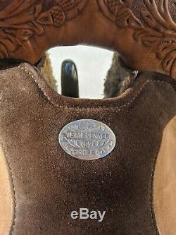 16 Circle Y Team Penner Western Saddle Model# 2644