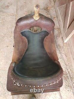 16 Cleburne Saddle Shop Western Saddle