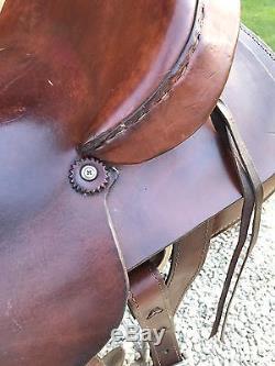 16 Dakota Saddlery Western Roping Saddle- Hardseat Ranch