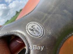 16 FQHB Simco Western Barrel saddle