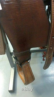 16 Handmade Circle L Western Saddle
