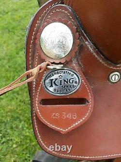 16'' KING SERIES Western Trail Saddle