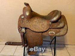 16 Kathy's Show Equipment Western Saddle