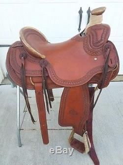 16 Original Billy Cook Model 2182 Wade Tree Ranch Saddle Nice