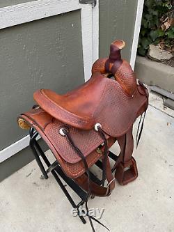 16 Ross Christensen Western Saddle