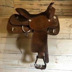16 Royal King shelby western training saddle