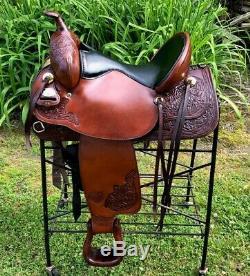 16 Tex Tan TEX FLEX Western Horse Saddle Light Weight
