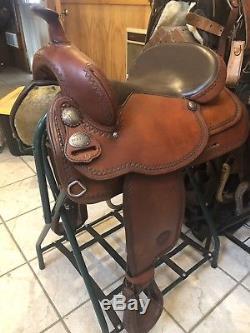 16 Tex Tan Tex Flex Saddle Withfree Saddle cleaning kit
