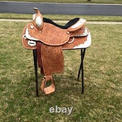 16' TexTan Western Saddle