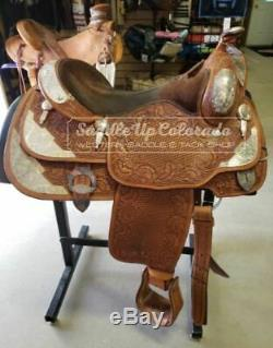 16 Used Billy Cook Western Show Saddle 3-1566
