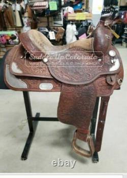 16 Used Circle Y Western Show Saddle 63-232