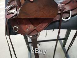 16 Used Crates Western Endurance Saddle 3-1517