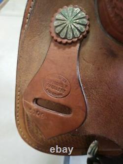 16 Used Diamond K Western Cutting Saddle 2-1181