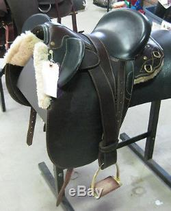 16 Used Down Under Dalby Pole Australian Saddle 3-1280-1