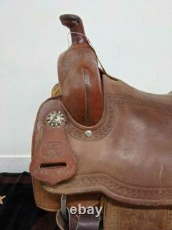 16 Used McCall Ranch Cutting Western Saddle 26-89