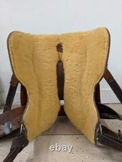 16 Used McCall Western Lady Working Cow Horse Saddle 2-1333