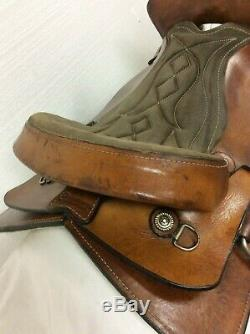 16 Western Trail Saddle By Continental, Full Quarter Horse Bars