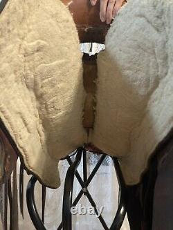 16 Western Wade Roping Saddle