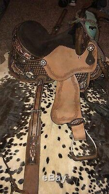 16 in barrel saddle