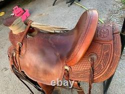 16 inch 98 McCall Wade Western Saddle