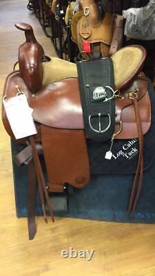 17.5 Tex Tan Western Saddle