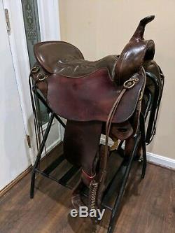 17.5 Tucker Saddlery Cheyenne Frontier Western Trail Saddle