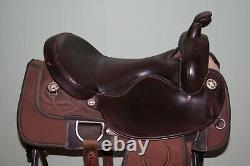 17 Big Horn Cordura Saddle Model 298 Flex Tree Comfort Seat Western, Trail