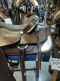 17 Charlois Handmade Western Saddle