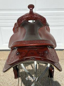 17 Circle Y PARK & TRAIL Western Horse Saddle Soft Leather