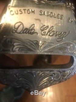 17 Custom Dale Chavez Silver Western Pleasure Show Saddle Nice Saddle