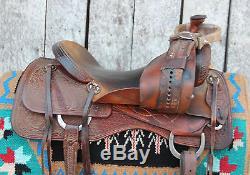17 Jeff Smith Ranch Cutting Saddle