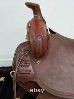 17 Used McCall Pendleton Western Ranch Saddle 2-1276