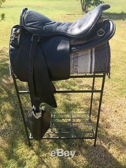 18 Christie Trooper Saddle Gaited Horse Trail Field Trial